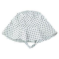 Βαμβακερή καπέλο με πουά μοτίβο