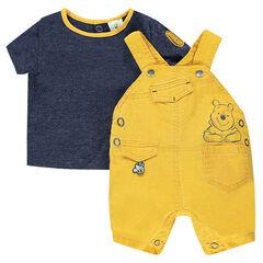 Σύνολο με κοντομάνικη μπλούζα και σαλοπέτα Winnie της Disney