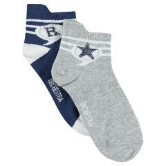 Σετ 2 ζευγάρια ασορτί κάλτσες