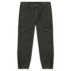 Παντελόνι lyocell με πολλές τσέπες