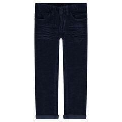 Παιδικά - Βελούδινο παντελόνι με τσαλακωμένη όψη