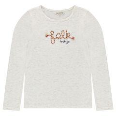 Παιδικά - Μπλούζα από slub ζέρσεϊ ύφασμα