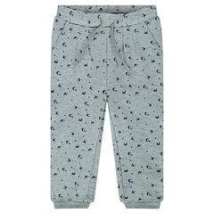 Pantalon de jogging en molleton imprimé