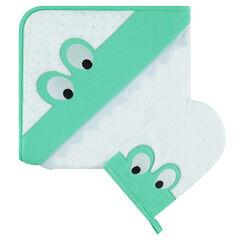 Σετ μπάνιου με σφουγγάρι και μοτίβο βάτραχο