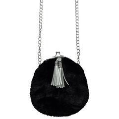 Τσάντα ταχυδρόμου με ψεύτικη γούνα