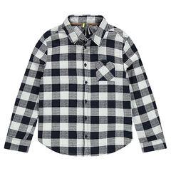 Παιδικά - Μακρυμάνικο καρό πουκάμισο