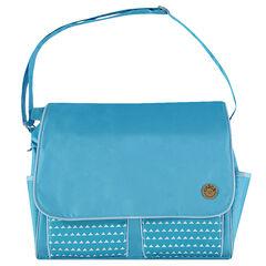 Τσάντα αλλαξιέρα με εμπριμέ τσέπες