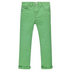 Υφασμάτινο παντελόνι σε τσαλακωμένο στυλ