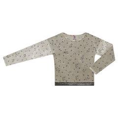 Παιδικά - Μπλούζα βελουτέ με αστεράκια