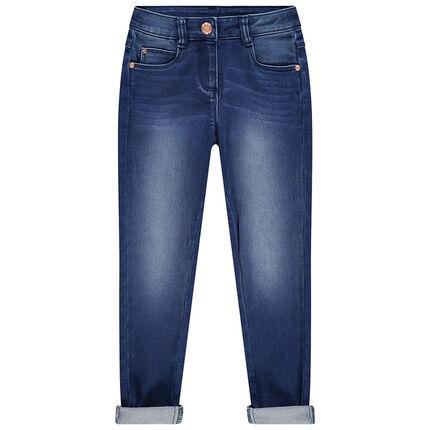 Junior - Jean effet used coupe skinny