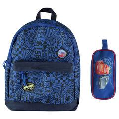 Τσάντα πλάτης και κασετίνα Cars της Disney/Pixar®