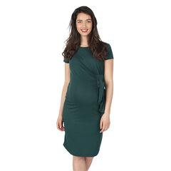Κοντομάνικο φόρεμα εγκυμοσύνης με κορδόνια