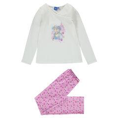 Μακριά πιτζάμα από ζέρσεϊ και φανέλα Βασίλισσα του Χιονιού της Disney