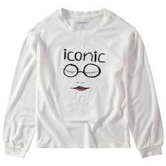 Παιδικά - Μακρυμάνικη ζέρσεϊ μπλούζα με τυπωμένο μοτίβο