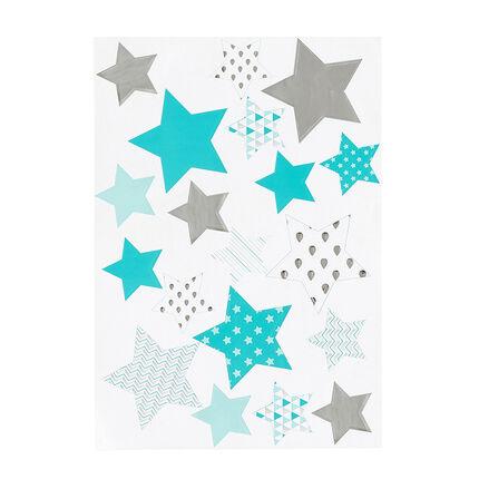 Τυπωμένα αυτοκόλλητα με αστέρια