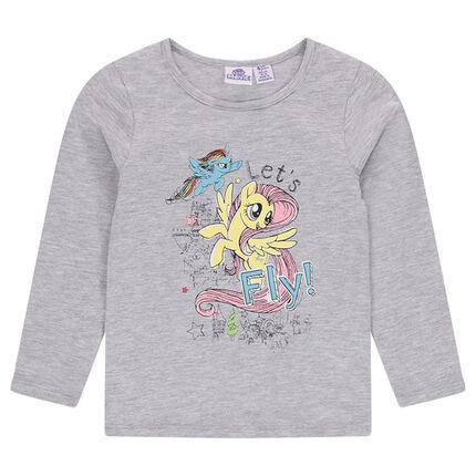 Μπλούζα ζέρσεϊ με στάμπα My Little Poney ©2017 Hasbro