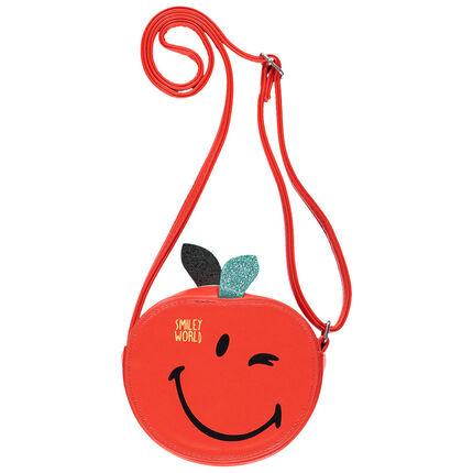 Τσάντα  Smiley σε σχήμα μήλου