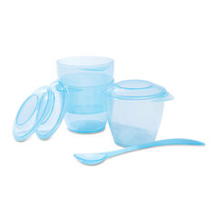 Σετ φαγητού fluo μπλε