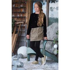 Φούστα με ζακάρ μοτίβο σε σχήμα τουλίπας με βελουτέ μέση