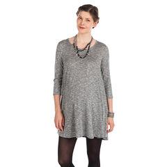 Robe manches 3/4 de grossesse avec ouverture dos