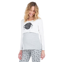 Μακρυμάνικη μπλούζα 2 σε 1 με τον Mickey και τη Minnie της ©Disney