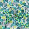 Κοντή ολόσωμη φόρμα από βαμβακερή γάζα με χαβανέζικο μοτίβο