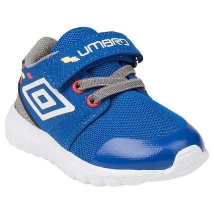 Αθλητικά παπούτσια UMBRO με ελαστικά κορδόνια και αυτοκόλλητο velcro, μεγέθη 20 ως 23