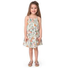 Φόρεμα με λεπτές τιράντες και εμπριμέ φλοράλ μοτίβο