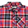 Μακρυμάνικο καρό πουκάμισο από φανέλα με τσέπη