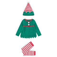 Χριστουγεννιάτικη πιτζάμα-στολή καλικάντζαρος με σκούφο