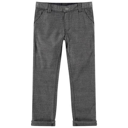 Παντελόνι με ύφανση ψαροκόκαλο
