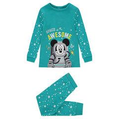 Ζέρσεϊ πιτζάμα ©Disney με τυπωμένα αστέρια και τον Mickey