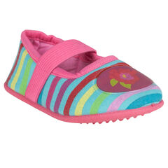 Chaussons babies à rayures multicolores