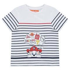 Κοντομάνικη μπλούζα ριγέ με στάμπα τον Marcus των Paw Patrol Nickelodeon™