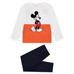 Πιτζάμα από ζέρσεϊ με τύπωμα Μίκυ της Disney