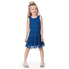 Αμάνικο φόρεμα πλεκτό με βελονάκι