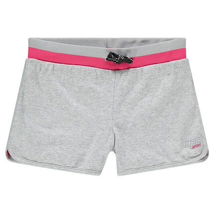 Junior - Short de sport forme loose avec print réfléchissant