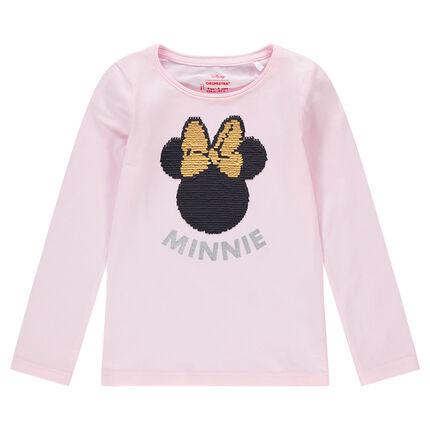 Μακρυμάνικη μπλούζα με μαγικές πούλιες με τη Minnie της ©Disney