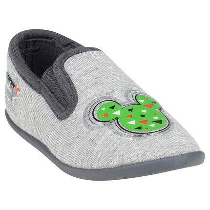 Chaussons bas avec patch Disney Mickey