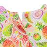 Robe en voile imprimée fruits
