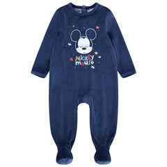 Dors-bien en velours motif Mickey Disney