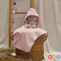 Κάπα-μπορνούζι fox ροζ , ABO
