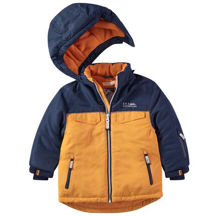Παιδικά - Μπουφάν σκι με φλις επένδυση και αφαιρούμενη κουκούλα