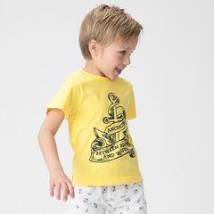 Κοντομάνικη μπλούζα από ζέρσεϊ με τυπωμένη άγκυρα