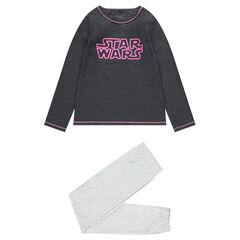 Παιδικά - Πιτζάμα από φανέλα και ζέρσεϊ με τυπωμένη φράση Star Wars™