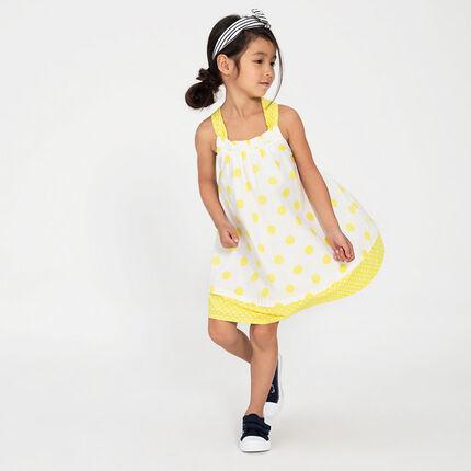 571b41f51b2 Αμάνικο φόρεμα με πουά σε όλη την επιφάνεια - Orchestra GR