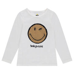 Μακρυμάνικη μπλούζα ζέρσεϊ με «μαγικές» πούλιες ©Smiley