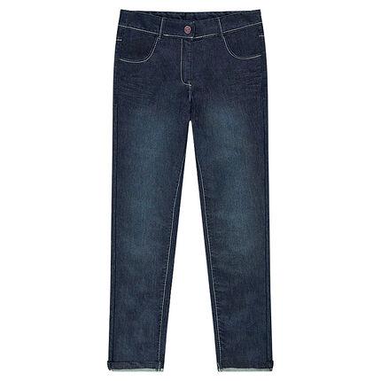 Junior - Τζιν με τσέπες και φθαρμένη όψη
