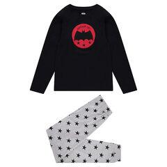 Παιδικά - Πιτζάμα με σήμα τον Batman της ©Warner και παντελόνι με αστέρια