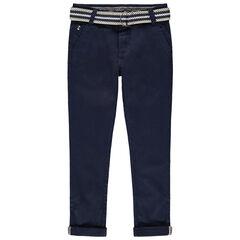 Παντελόνι από τουίλ με αφαιρούμενη ριγέ ζώνη
